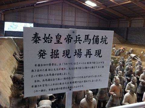 太陽公園 秦の始皇帝 兵馬俑 (6)