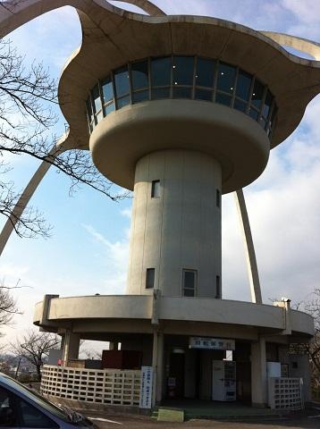 手柄山遊園回転展望台喫茶店 (1)