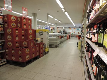 binnenkant supermarkt