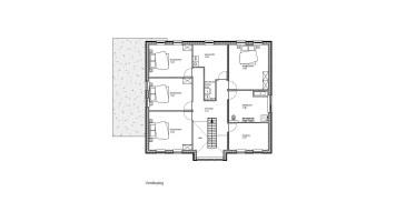 plattegrond verdieping (woning)
