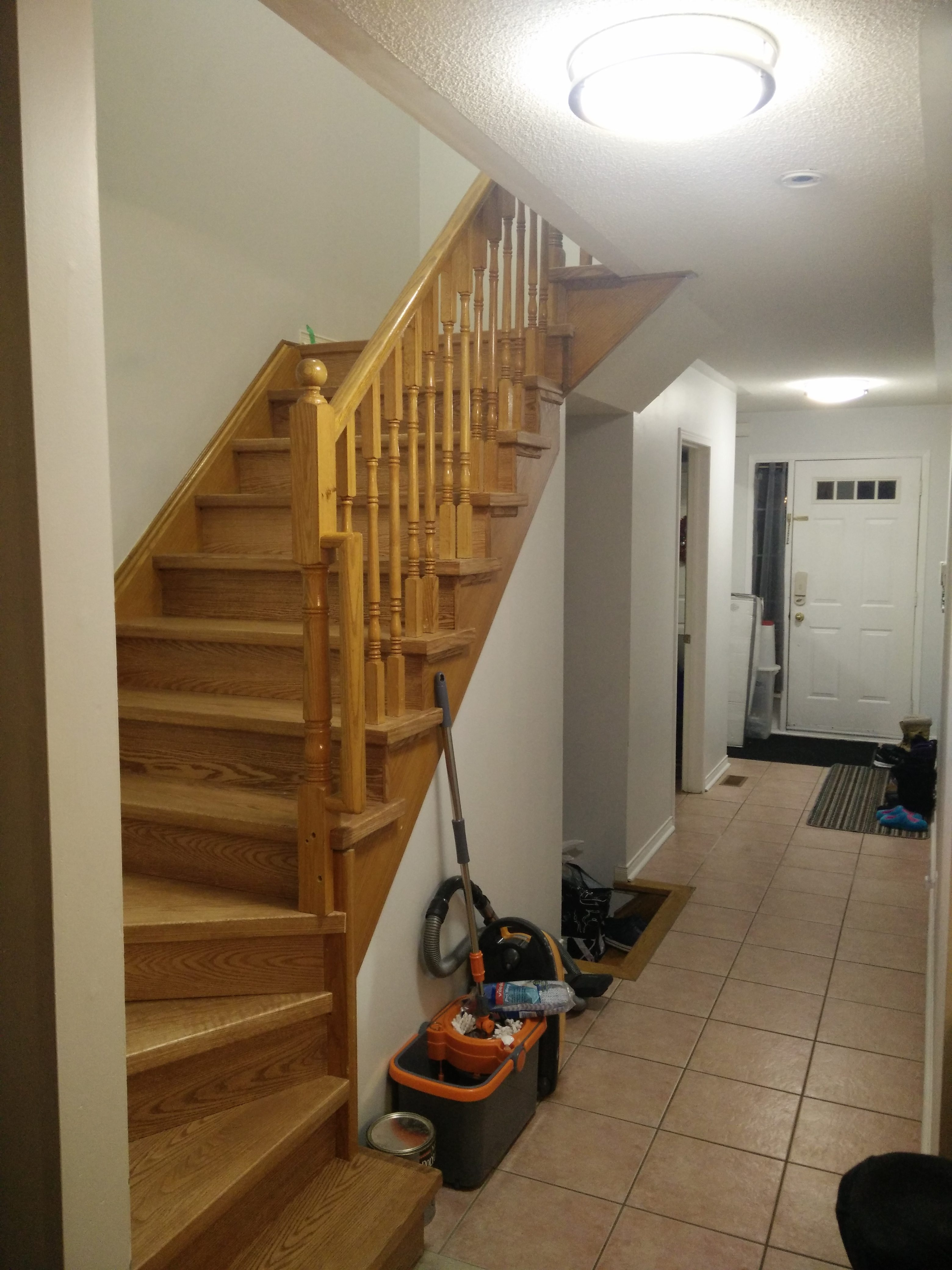 How Much Does It Cost To Change Stairs From Carpet To Wood | Redoing Carpeted Stairs To Wood | Hardwood Floors | Stair Tread | Stair Risers | Stair Case | Staircase Remodel