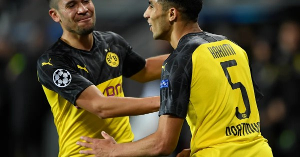 Dortmund tops Slavia Prague 2-0 in Champions League