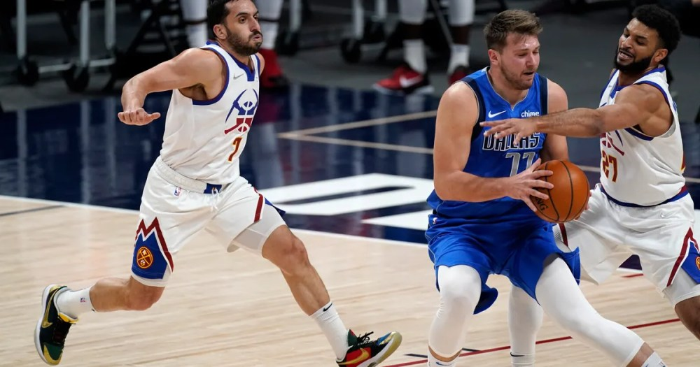 Doncic has 21 points, 12 assists, Mavs beat Nuggets 116-103   FOX Sports