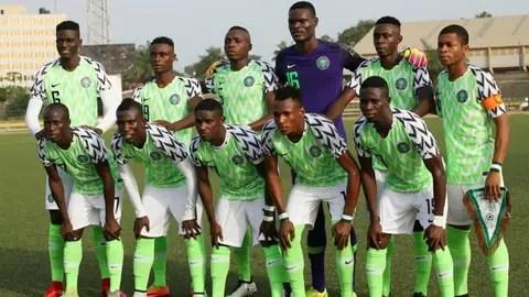 african games 2019 nigeria football team