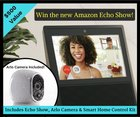 Win the NEW Amazon Echo Show, Wireless Camera & Amp; Smart Home Control Kit! Ends 9/15 {US}