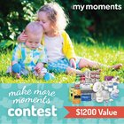 MyMoments.ca $1200 prize pack Giveaway! (11/30/2015)
