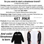 So you want to start a streetwear brand?