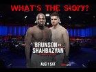 What's the Story?: Edmen Shahbazyan vs. Derek Brunson