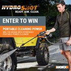 Hydroshot Sweeps 2017 win a Hydroshot Portable Power Cleaners{us} ends 7/31