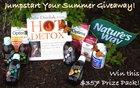 Hot Detox & Natures Way Jumpstart Your Summer Giveaway! $350 Value! Ends 6/30 {??}