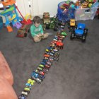 Do you think my son has enough Monster trucks yet?