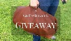 $400 Gunnar Leather Duffle Bag Giveaway (7/6){US}