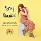 Win your choice of shoes from the Miz Mooz Spring Collection {US} (02/15/2018)