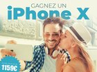 Win an iPhone X or 250€ / 100€ airlines gift card {France}
