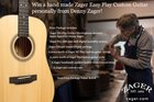Handmade Zager Guitar with lifetime lessons Giveaway! ($1700 value!) (06/28/18) {WW}