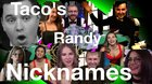 NEW LIVE DEALER PRANK VIDEO - Taco's Randy Nicknames