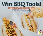 Enter for a chance to win an 18-piece barbecue tool set with storage case {US CA} (06/26/2018)