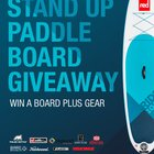 Win a standup paddleboard plus gear - $2,588 value! {US} (07/31/2018)