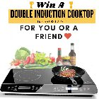 Win a Duxtop 9620LS LCD Portable Double Induction Cooktop {US CA} (02/29/2020)