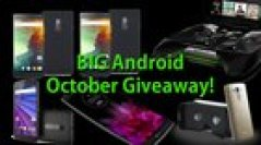 Big Android Giveaway - 5 Winners, 2x OnePlus 2, 1x LG F Flex 2, 1x 3rd Gen Moto G, 1x LG G3 with VR Headset and 1x Nvidia Shield Portable (10/22/2015)