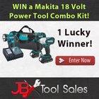 Win a Makita 18V LXT 3 Piece Lithium-Ion Cordless Combo Kit! {US} (11/18/2018)