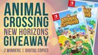 Animal Crossing New Horizons Giveaway (2 Winners) - 4/3/2020 {WW}
