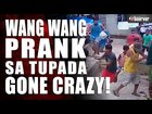 Illegal gambling: Police car prank - Philippines