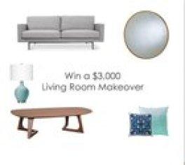 $3,000 Living Room Makeover [Ends 8/16]