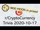Trivia at 12p CDT (17 UTC) – 1800 MOON in prizes!