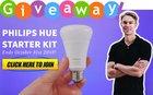 Philips Hue Smart Light Starter Kit October 2018 Giveaway - 10/31/18