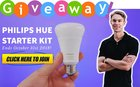 Philips Hue Smart Light Starter Kit October 2018 Giveaway - 10/31/18
