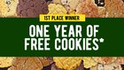Win a Year of Cookies from Pacific Northwest Cookie Company - 10 Winners! {US} (6/1/2019)