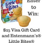 $25 Visa gift card along with Entenmanns products (12/14/2018) {US}