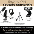 Launch Your Business Youtube Channel | Logitech Webcam, Yeti Microphone, Headphones and More (05/26/2017) {??}