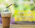 Win a $50 Tim Horton's Gift Card {US CA} (??)