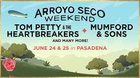 2 Day passes to Tom Petty and others in concert at Arroyo Seco Weekend in Pasadena, California! {US} 06/20/2017 Not sure of end date