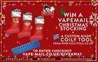 WIN A VAPEMAIL CHRISTMAS STOCKING (12/02/2018) {WW}