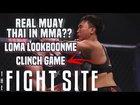 Loma Lookboonmee's Muay Thai Clinch in MMA