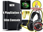 Win A PlayStation 4 Slim 1TB Console! {??} (11/27/18)
