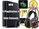 Win A PlayStation 4 Slim 1TB Console! {??} (11/27/18)