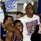 Dennis Rodman Signed Detroit Pistons Championship Photo Giveaway {US} (07/22/2017)