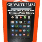 #GrivantePress Amazon 8gb Kindle Fire Giveaway!{ww} {09/30/2017}