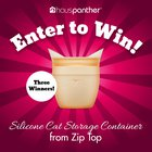 Enter to win a Zip Top Silicone Cat Container. 3 Winners! (03/29/2020) {US}