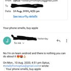 I made a fake email address to prank my friend and he didn't even check the address before replying 😂😂😂😂😂