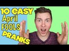 10 Great Prank Ideas for April Fools Day | Tested on Roommates