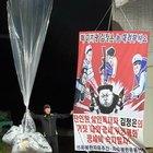 脱北者ら、金正恩批判の風船飛ばす 韓国政府阻止できず