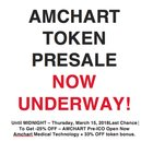 Don't Miss Out 7 Days To Go! AMCHART 2018's Hottest ICO, Presale Live Now at; https://amchart.io
