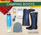 Camping Giveaway - Win a pair of boots {US} 7/31/17