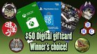 $50 Giftcard - Xbox/PSN/Steam PayPal 11/1/2019 {WW}