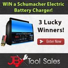 Win a Schumacher Electric Battery Charger & Maintainer - 3 Winners! {US} (2/19/2018)